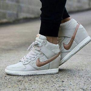 Nike Wedge Sneakers • Dunk Sky Hi